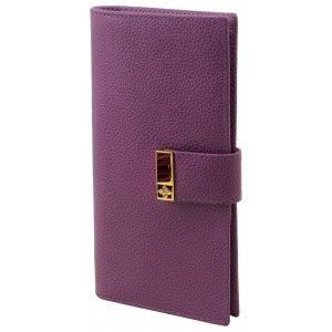 Вертикальное портмоне Elite purpur
