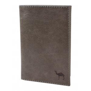 Обложка для паспорта Camel серый