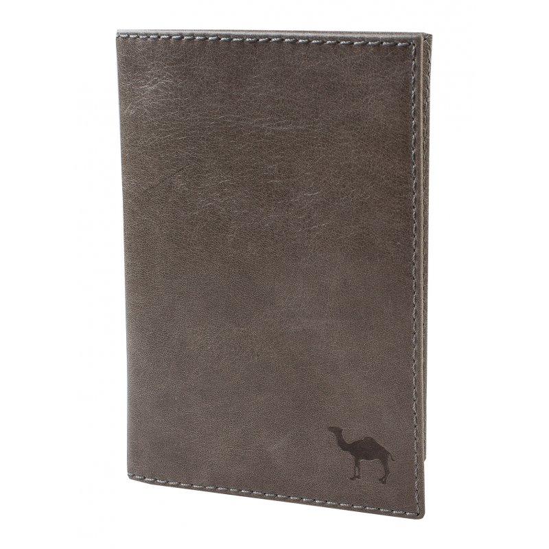 Обложка для документов (мод. 451) Camel серый