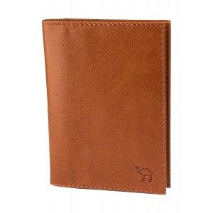 Обложка для документов (мод. 451) Camel рыжий