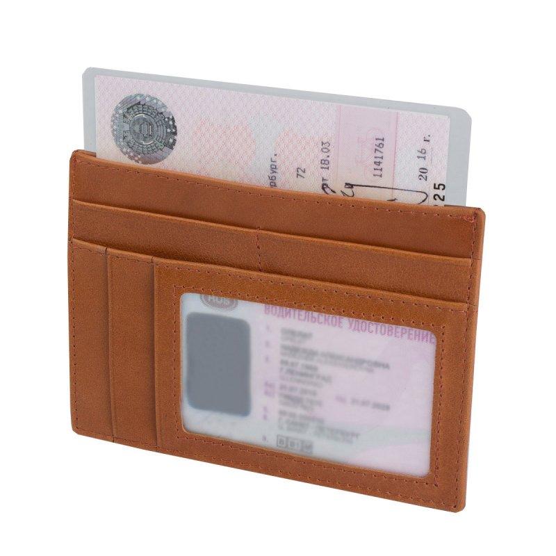 Карман для документов (мод. 473) Camel рыжий