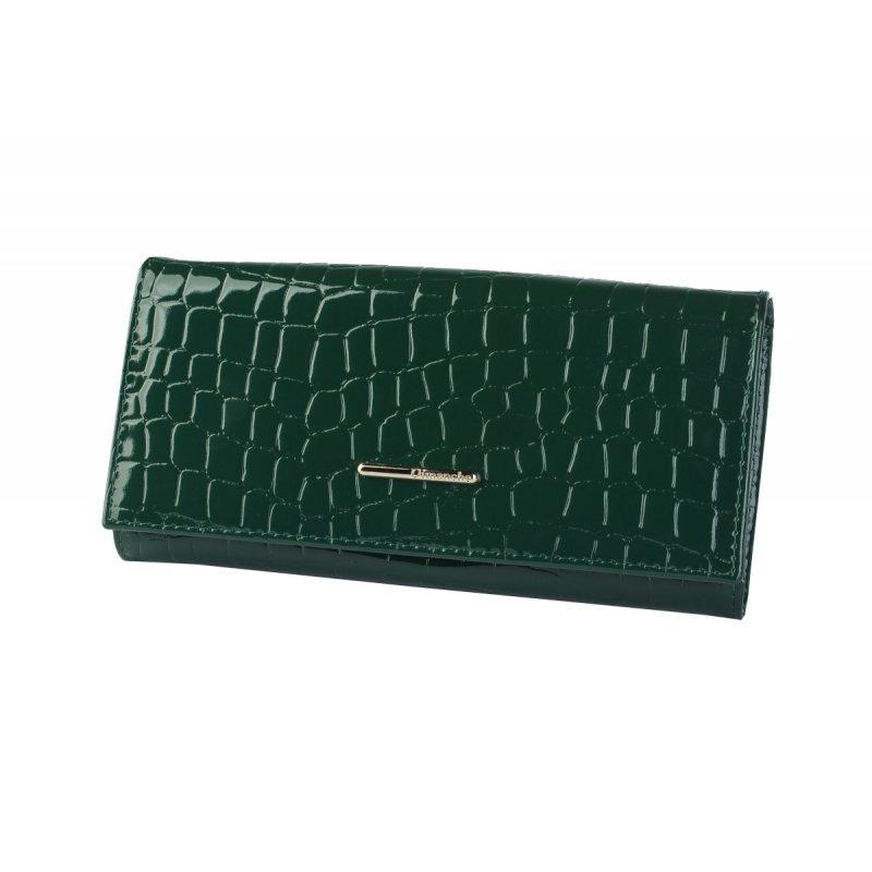 Портмоне Nice зеленый крокодил
