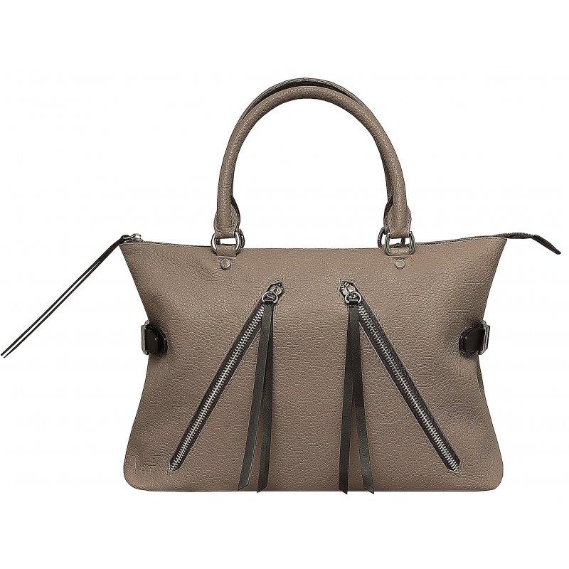 70c290cd9167 Женская кожаная сумка Аврора бежевого цвета артикул 243/51 купить ...
