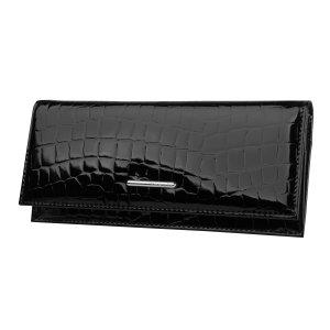 Портмоне Point (мод. 467) Nice черный крокодил