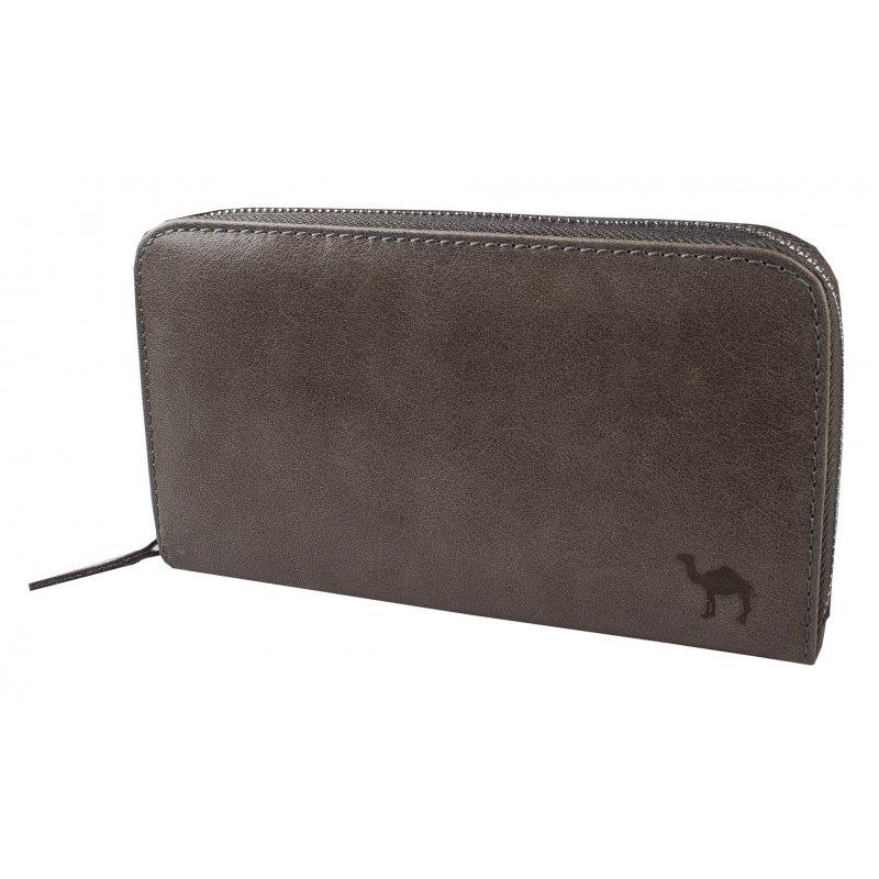 Портмоне-клатч мужское XL Camel серый