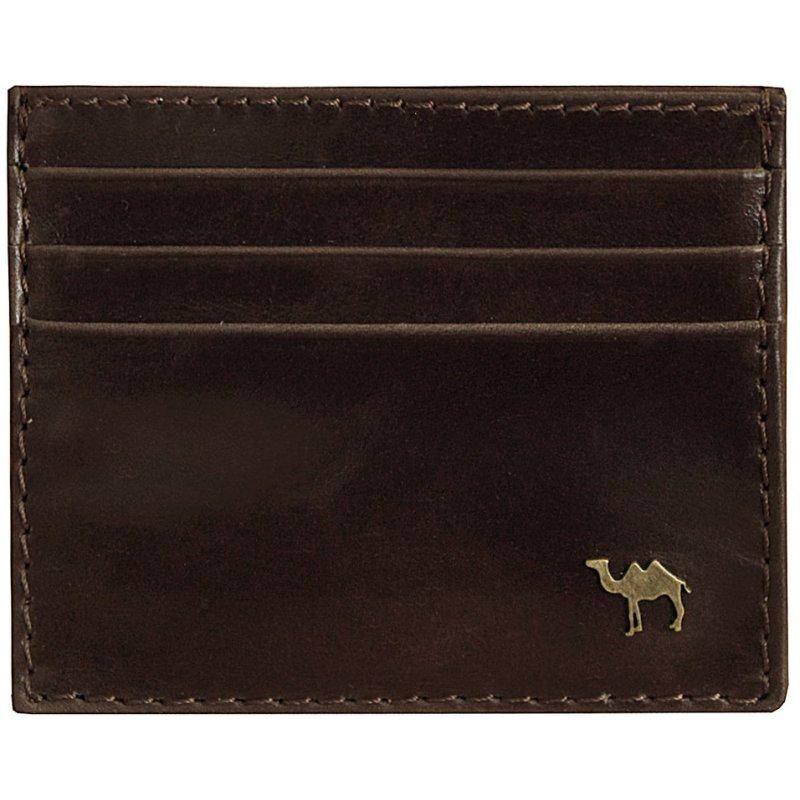 Визитница Camel премиум коричневый