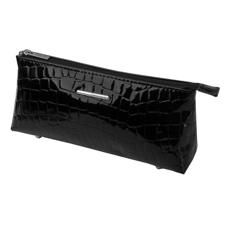 Косметичка Nice черный крокодил