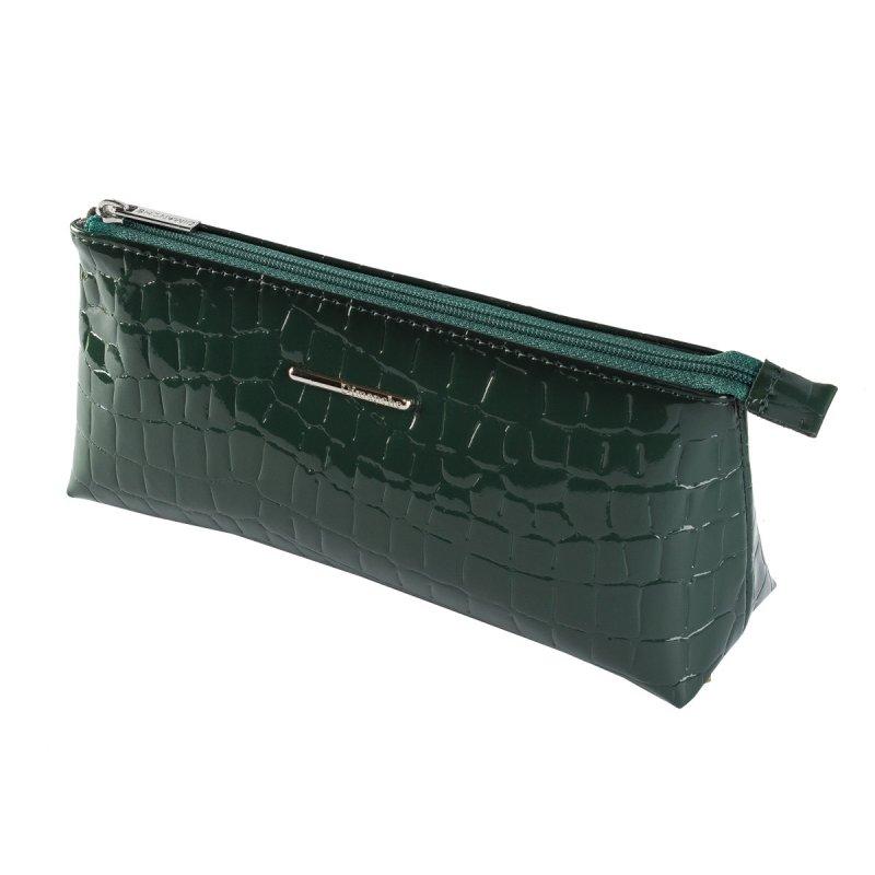 Косметичка Nice зеленый крокодил