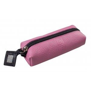 Ключница на молнии Parfum розовый