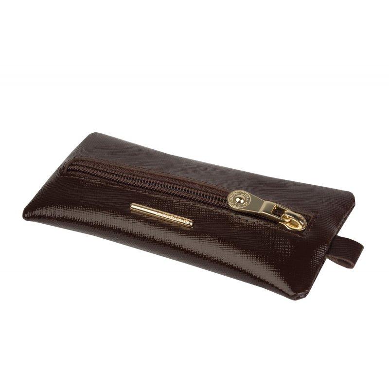 Ключница (мод. 470) Nice коричневый сафьян