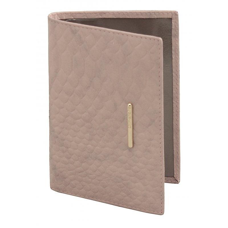 Обложка для паспорта Nice розовый