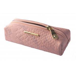 Ключница на молнии большая Nice розовый