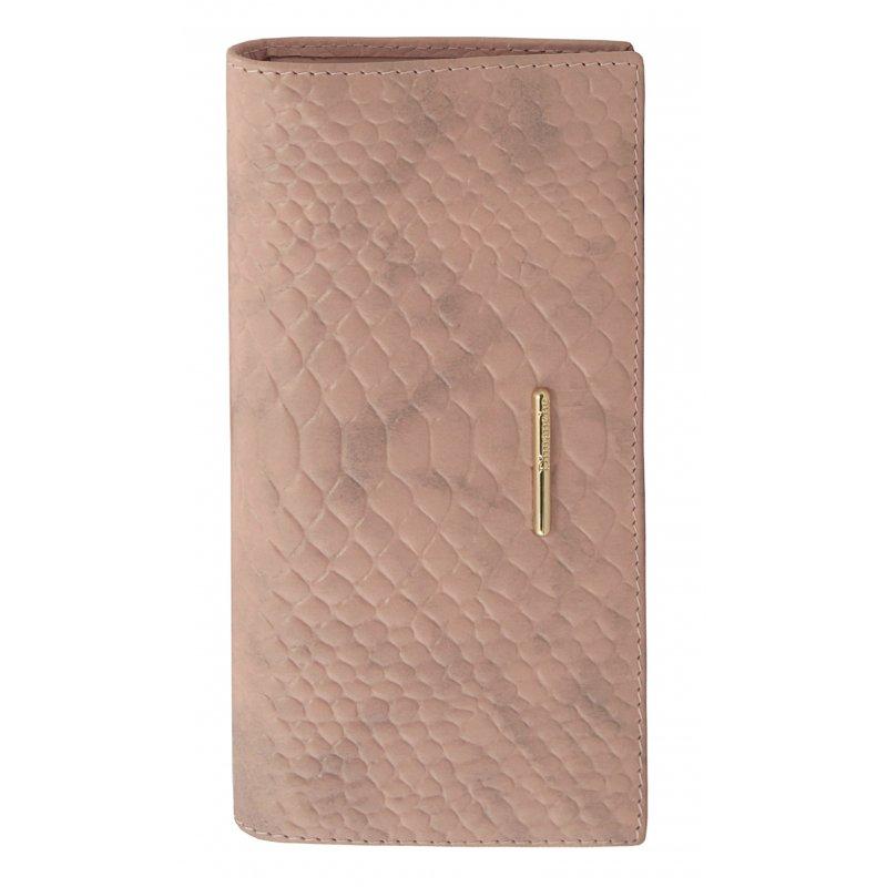 Вертикальное портмоне Nice розовый