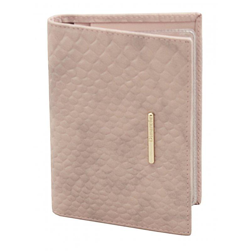 Бумажник водителя Nice розовый