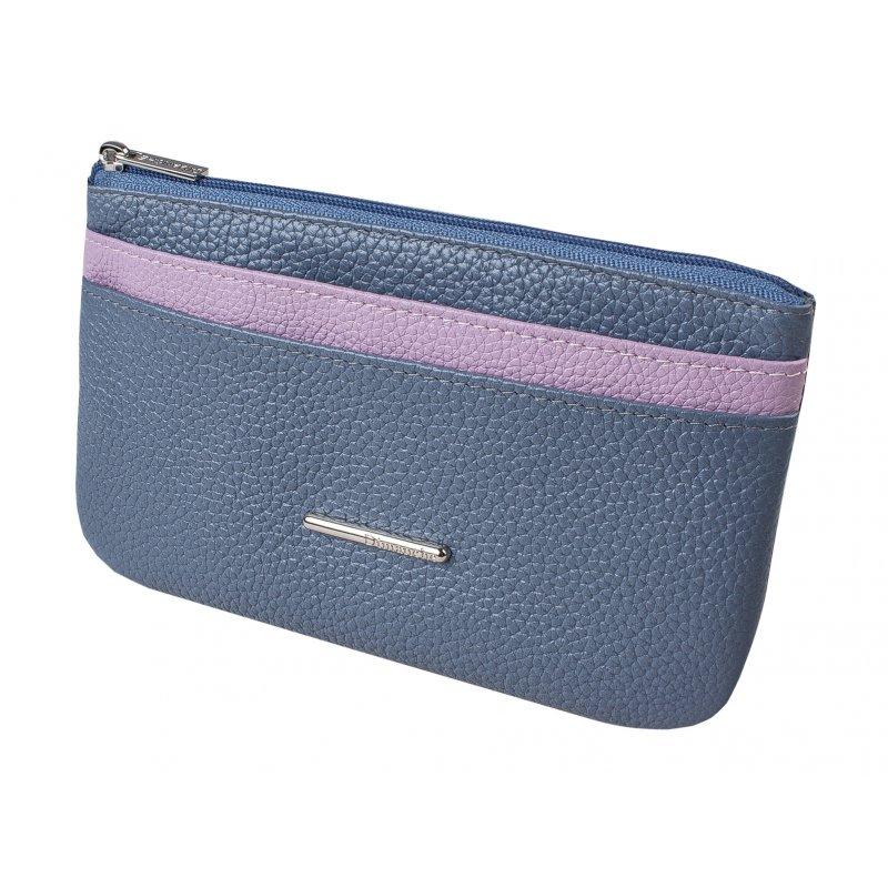 Портмоне мод.8-504 голубое/розовое