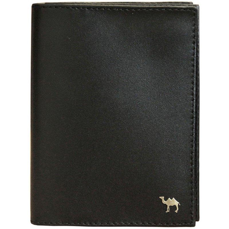 Бумажник водителя  Camel премиум черный