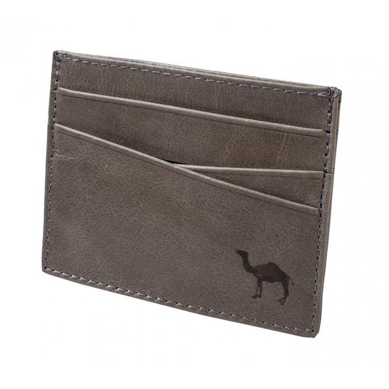 Визитница (мод. 490) Camel серый