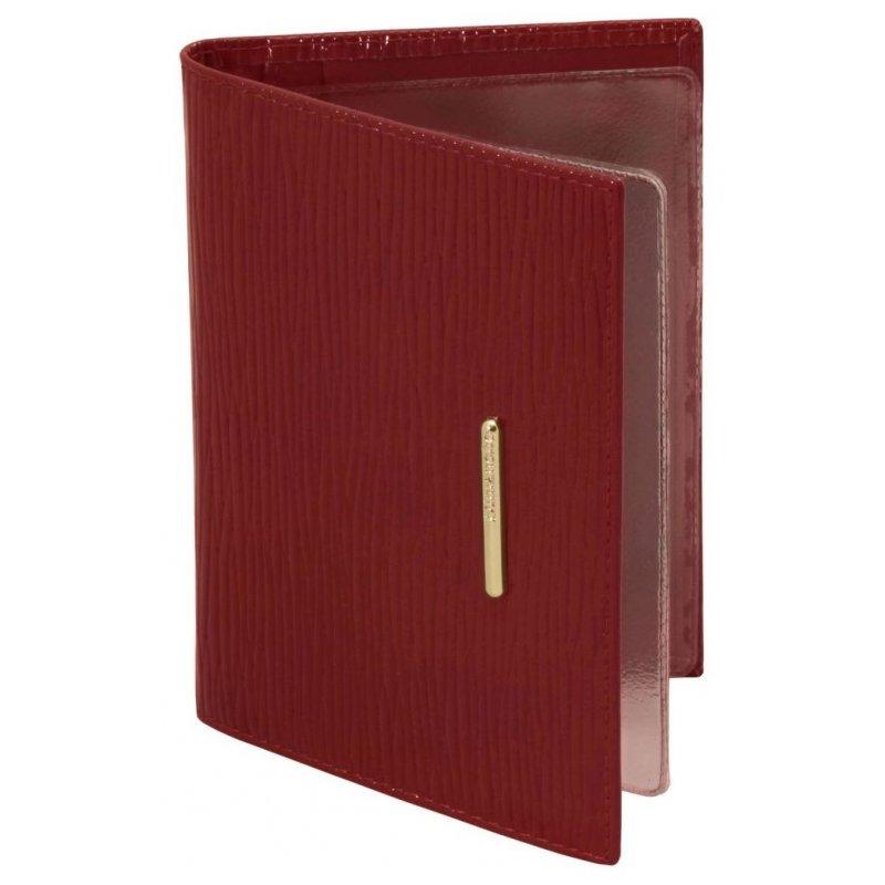 Бумажник водителя Nice красный